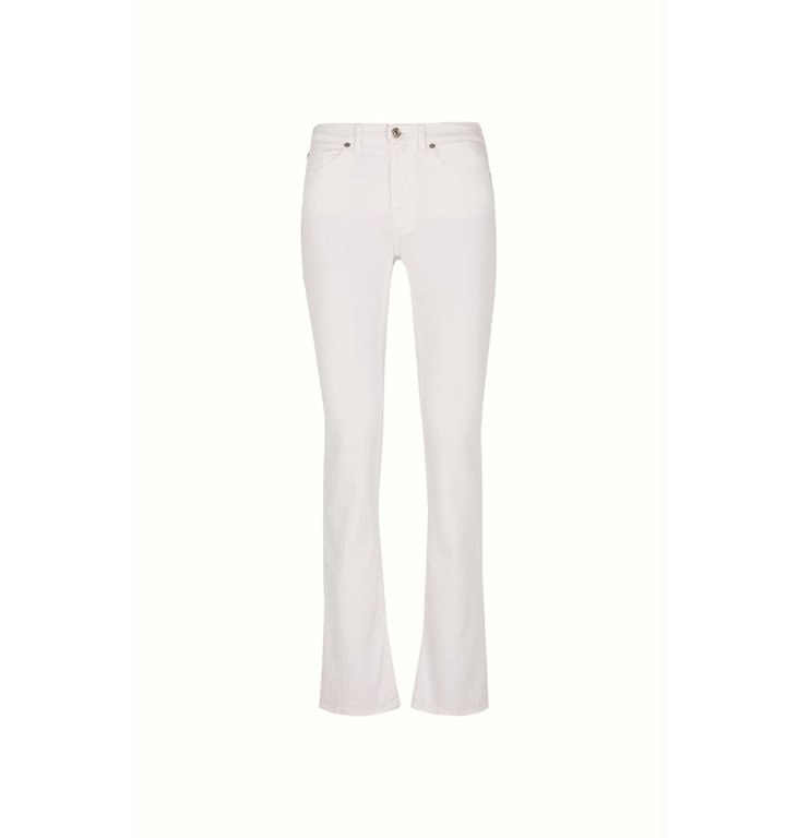 7 For All Mankind 7 For All Mankind White The Bootcut Jeans JSWBV690WH