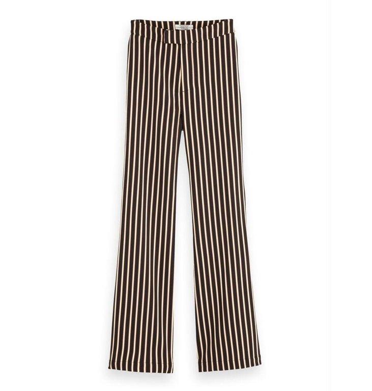 Maison Scotch Maison Scotch Striped Flaired Sweat Pants 156492