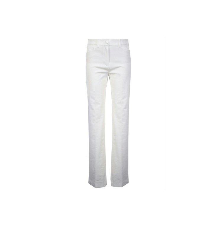 Marc Cain Marc Cain Off White Pantalon NC8124-W42