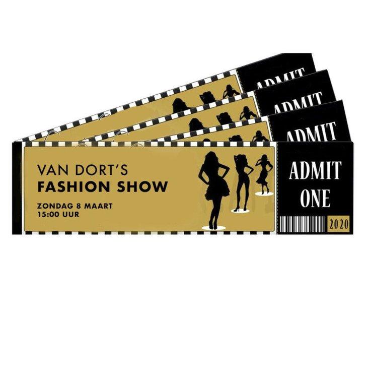 Van Dort Mode Van Dort Mode Van Dort Fashion Show Kaart = Shoptegoed