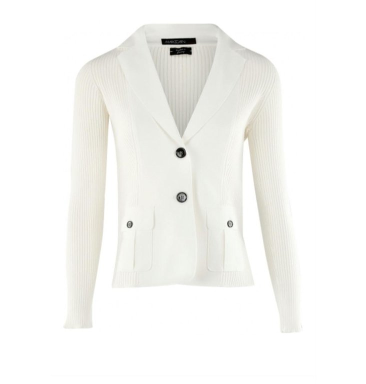 Marc Cain Marc Cain Off White Cardigan NC3414-M16