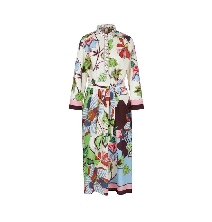 Marc Cain Marc Cain Multicolour Floral Dress NA2112-W08