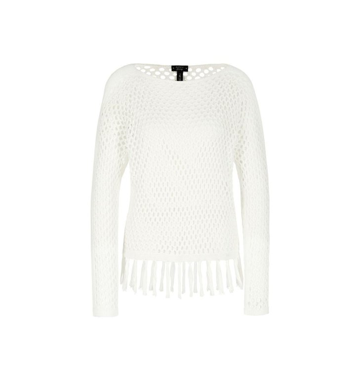 Marc Cain Marc Cain Off White Sweater NC4149-M42