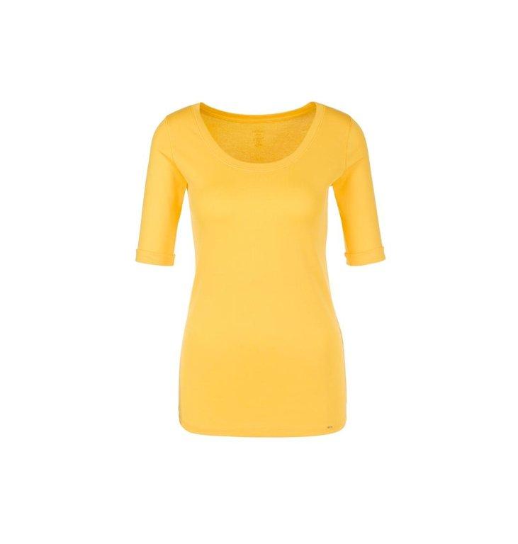 Marc Cain Marc Cain Yellow T-shirt NC4869-J14
