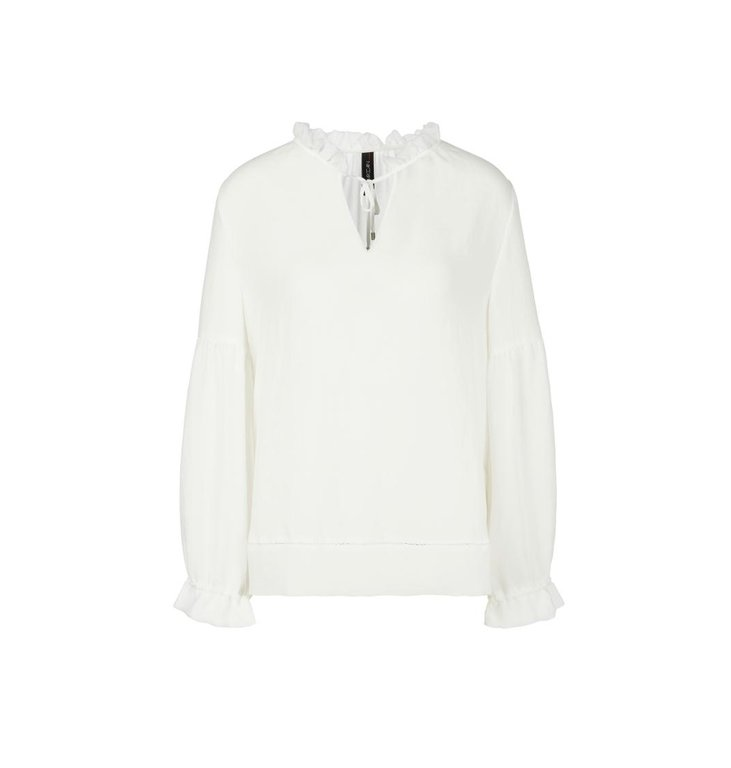 Marc Cain Marc Cain Off White Blouse NC5131-W30