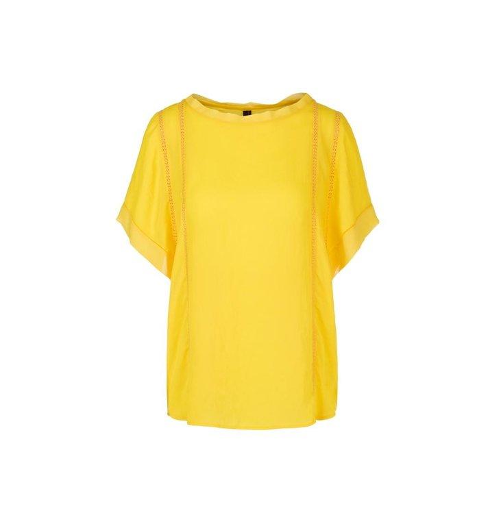 Marc Cain Marc Cain Yellow Blouseshirt NC5519-W30