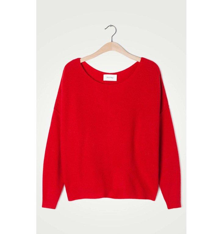 American Vintage American Vintage Red Knit Dam225