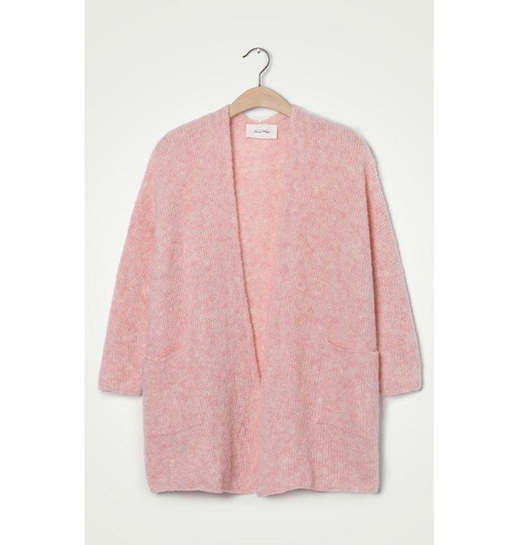 American Vintage American Vintage Pink Cardigan Fog272