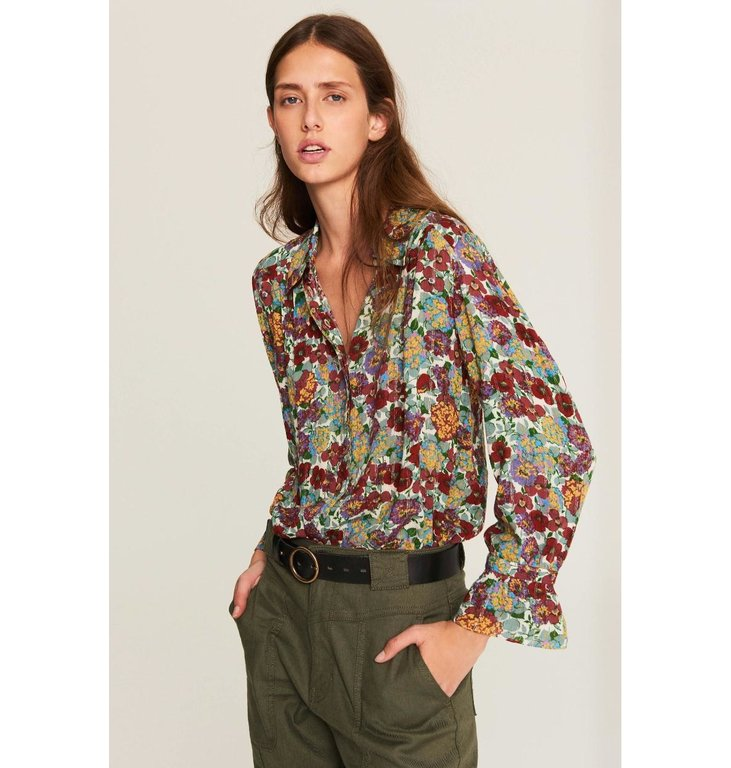 Ba&sh Ba&sh Floral Blouse Phara
