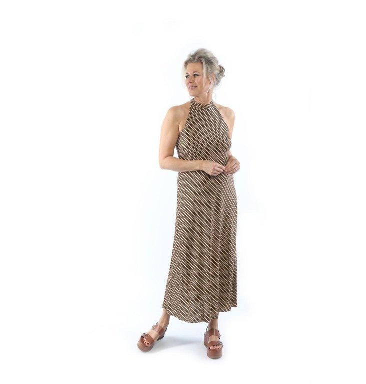 Siyu Siyu Beige/Multi Colour Himba Dress Mod. 180