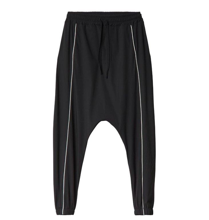 10Days 10Days Black Dropped Pants 20.053.0201/3