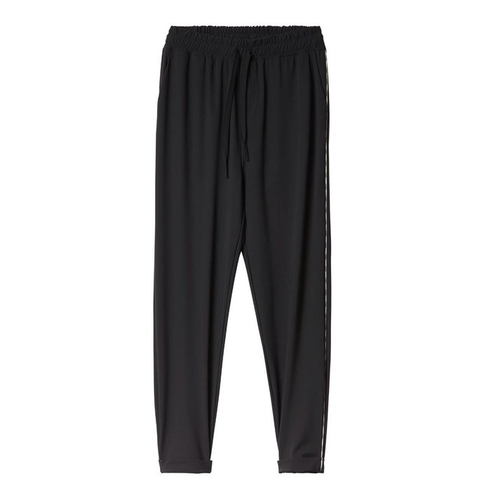 10Days Black Easy pants Piping 20.054.0201/3