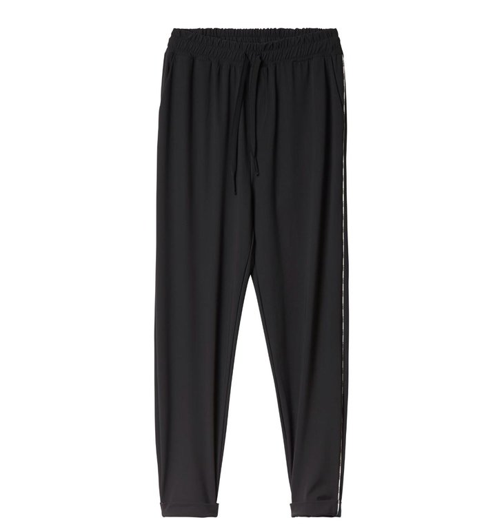 10Days 10Days Black Easy pants Piping 20.054.0201/3