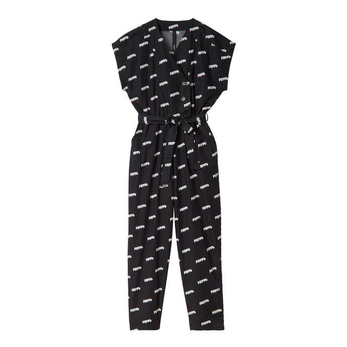 10Days Black Jumpsuit PNPPL 20.082.0201/3