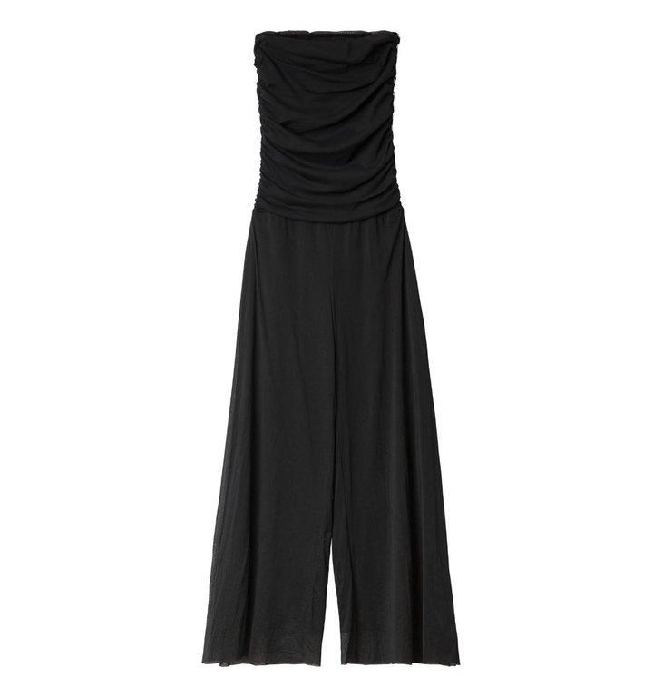 10Days 10Days Black Strapless Jumpsuit 20.083.0201/3