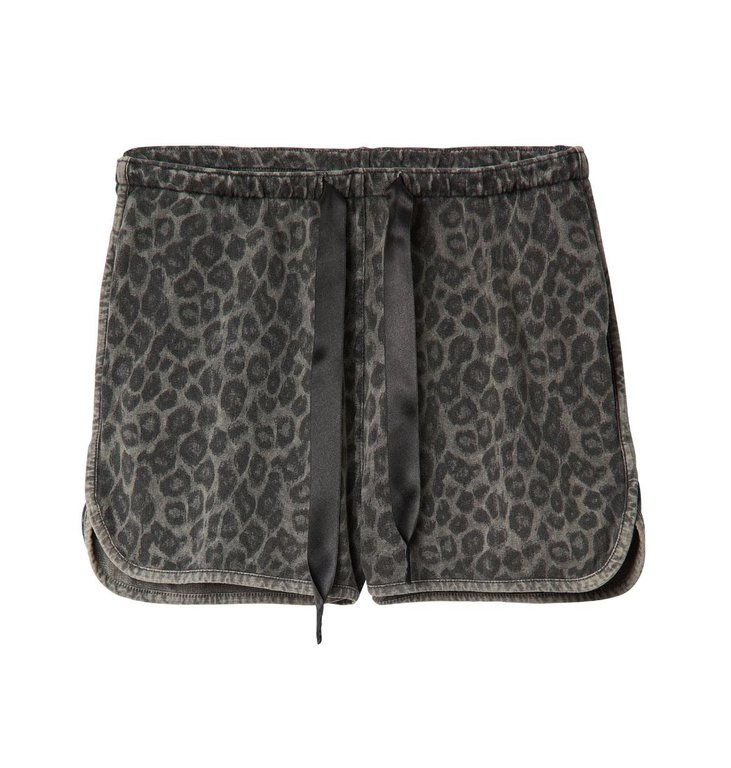 10Days 10Days Dark Grey Shorts Fade Out Leopard 20.206.0201/3