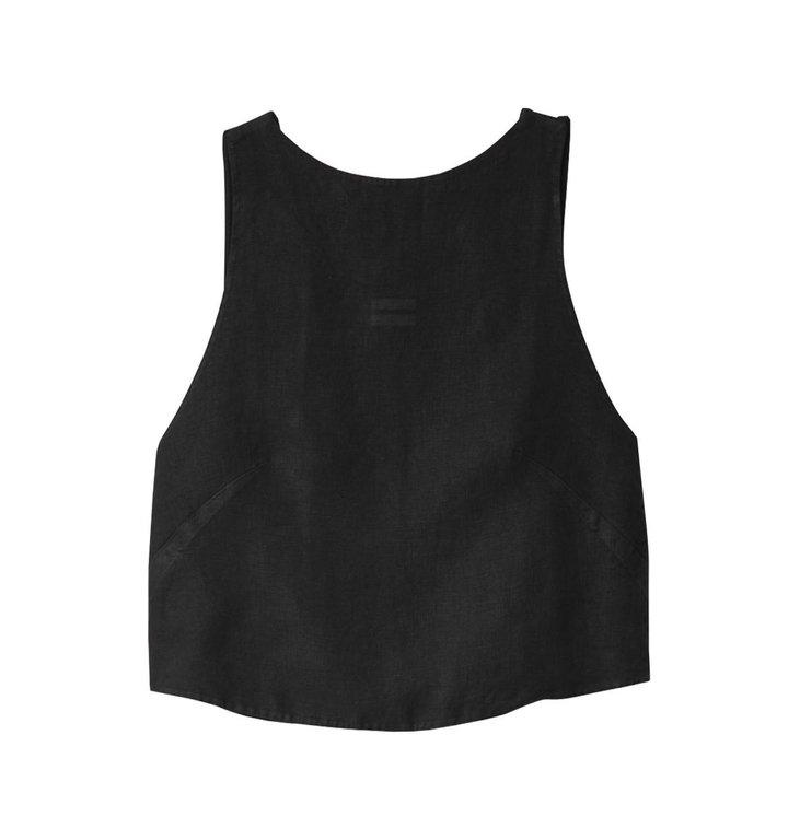 10Days 10Days Black Top Knot Linen 20.464.0201/3