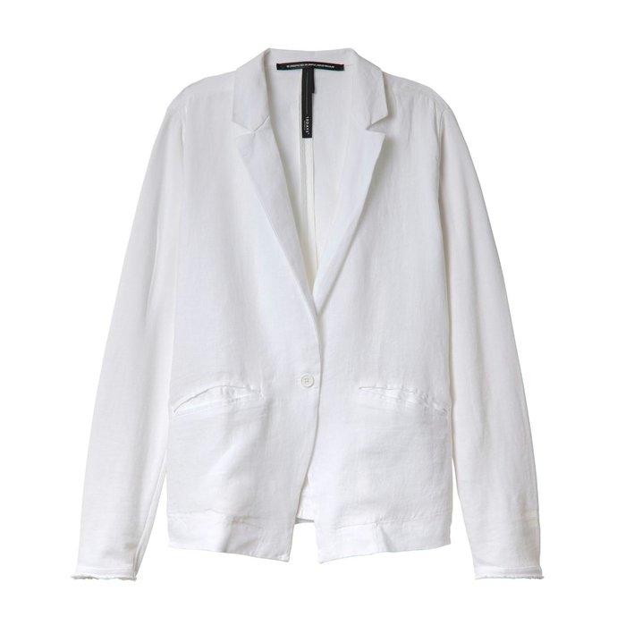 10Days White Blazer Linen 20.504.0201/3
