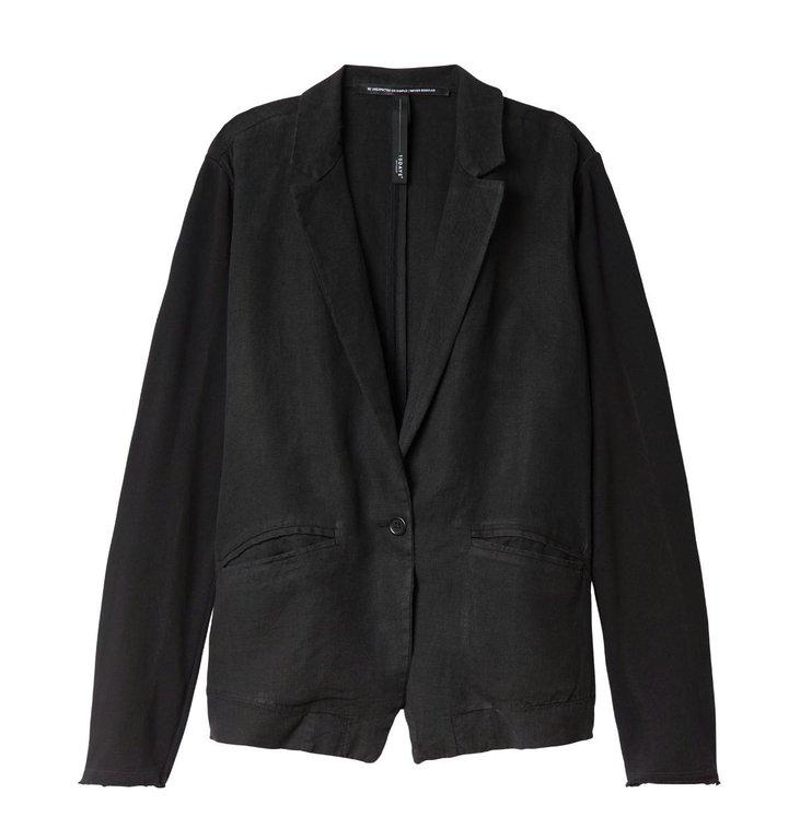 10Days 10Days Black Blazer Linen 20.504.0201/3