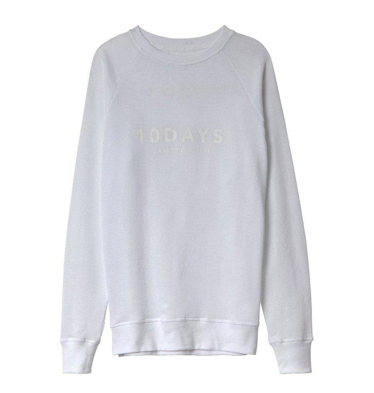 10Days 10Days White Sweater Mesh 20.803.0201/3