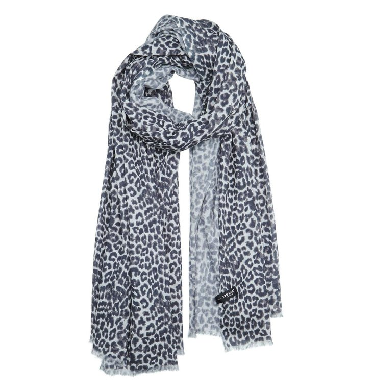 10Days 10Days White Sand Pareo Scarf Leopard 20.910.0201/3