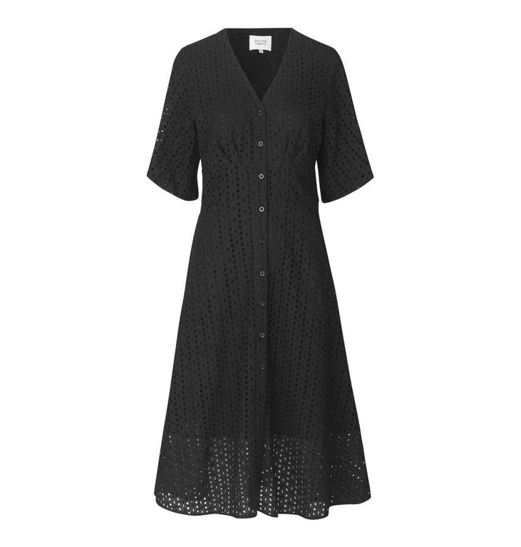 Second Female Second Female Black Milly SS Dress 53286
