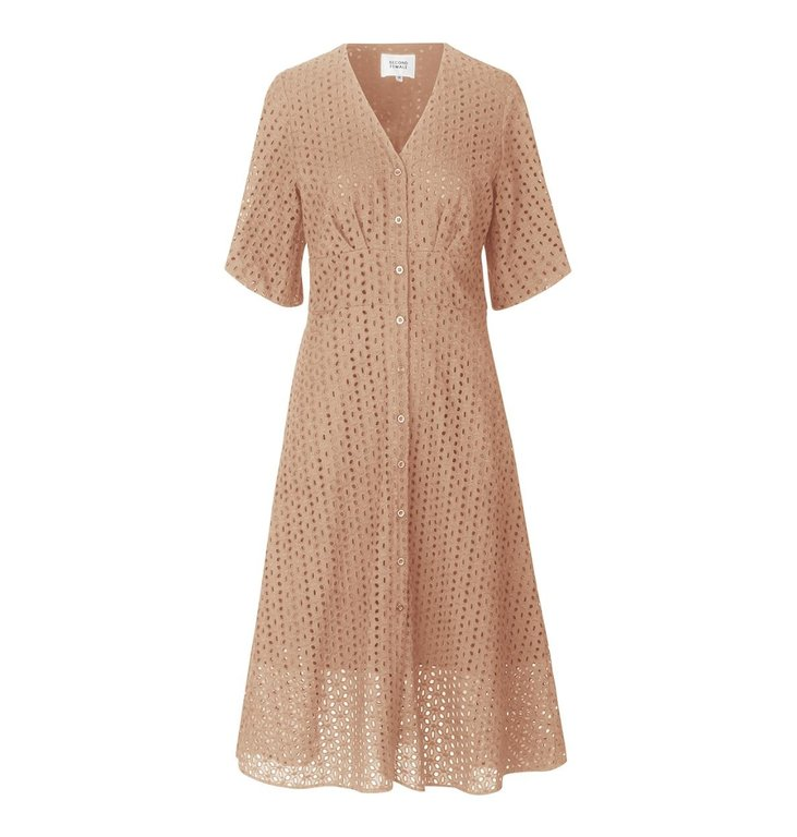 Second Female Second Female Beige Milly SS Dress 53286