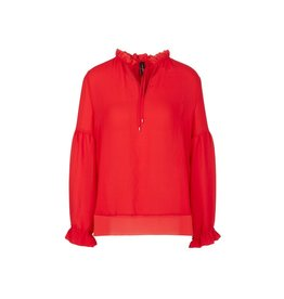 Marc Cain Marc Cain Red Blouse NC5131-W30