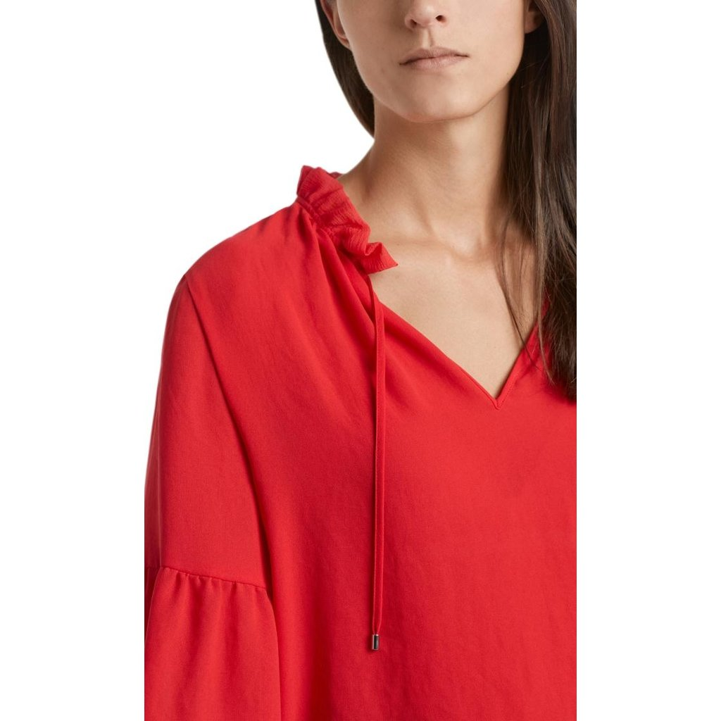 Marc Cain Red Blouse NC5131-W30