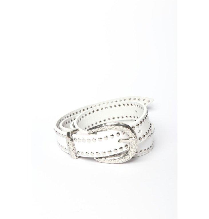 Nanni Nanni White Belt 521-P27