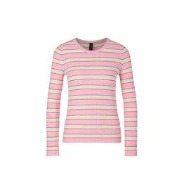 Marc Cain Marc Cain Pink/Multi Colour Sweater NS4136-M02