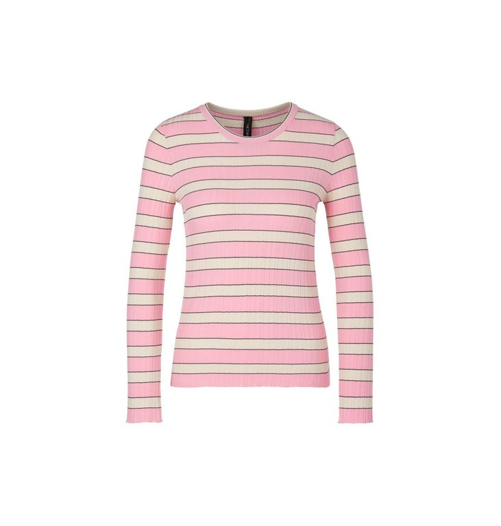 Marc Cain Marc Cain Pink/Multi Colour Sweater NS4136-M02