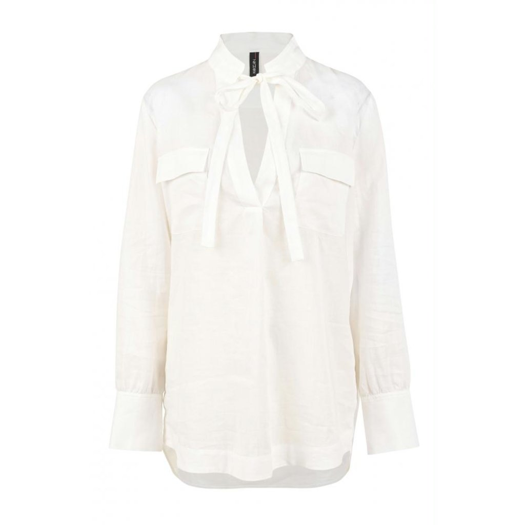 Marc Cain Off White Blouse NC5126-W53