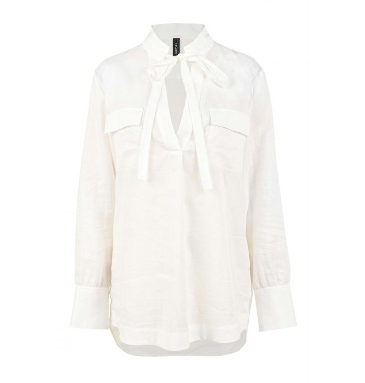 Marc Cain Marc Cain Off White Blouse NC5126-W53