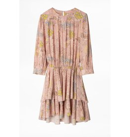 Zadig & Voltaire Zadig & Voltaire Pink/Multi Colour Dress Rooka Print Glam