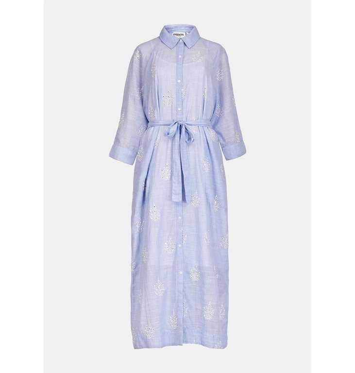 Essentiel Antwerp Essentiel Antwerp Blue Dress Veureka