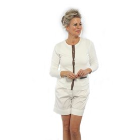 Marc Cain Marc Cain Off White Cardigan NC3150-M39