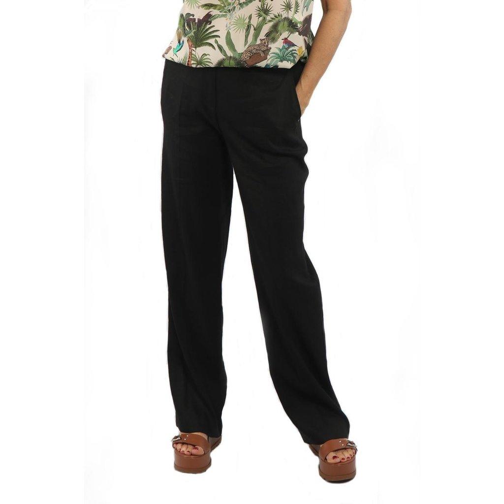 Marc Cain Black Pantalon NC8152-W47