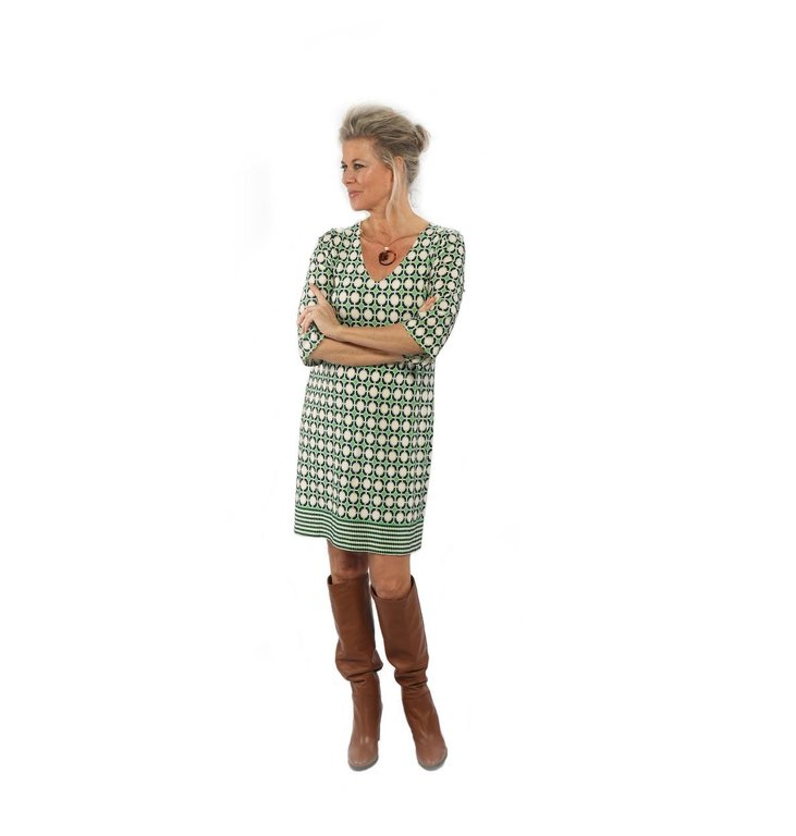 Ana Alcazar Ana Alcazar Green Dress Print 047727-2892