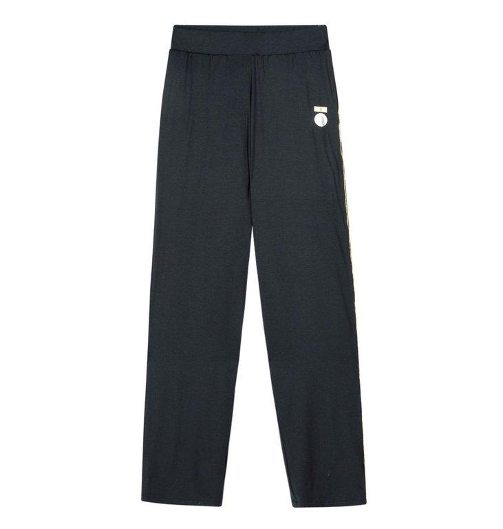 10Days 10Days Dark Grey Blue Loose Beach Pants 20.018.0202