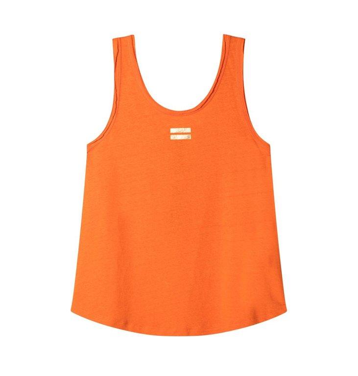 10Days 10Days Orange Top Linen 20.450.0202