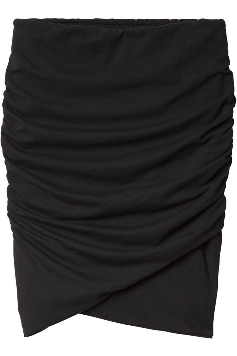 Gold Slim Fit Skirt