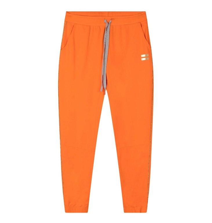 10Days 10Days Orange Cropped Jogger Gold 20.003.0202