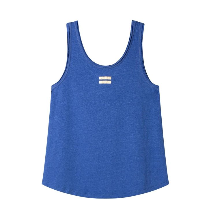 10Days 10Days Blue Top Linen 20.450.0202