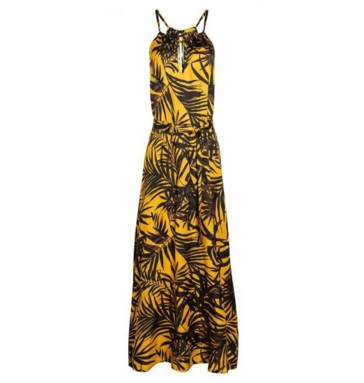 Ana Alcazar Ana Alcazar Yellow Printed Maxi Dress 047660-2876