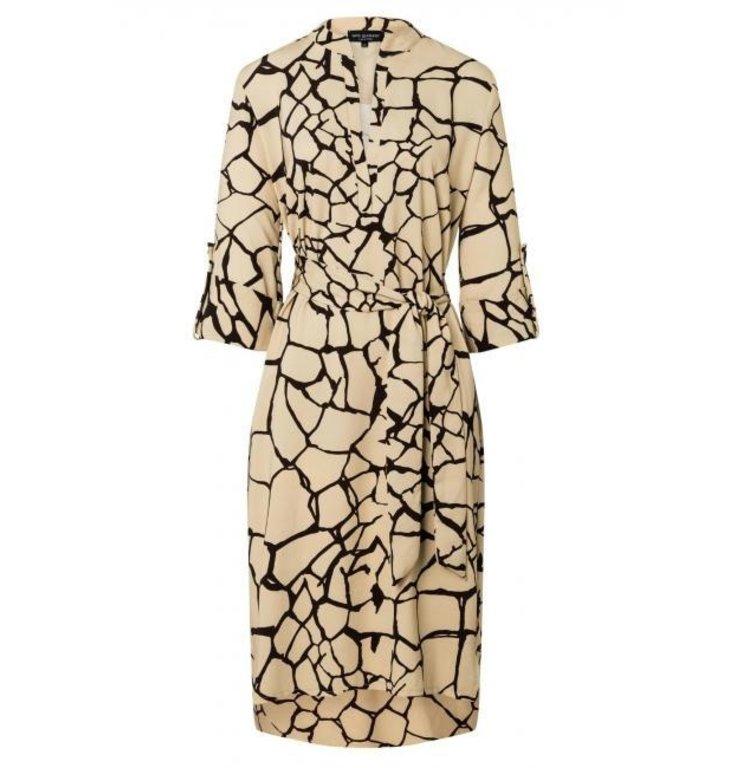 Ana Alcazar Ana Alcazar Beige Tunic Dress Zabon 047650-2874