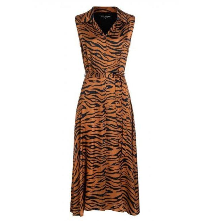 Ana Alcazar Ana Alcazar Brown Print Dress 047654-2875