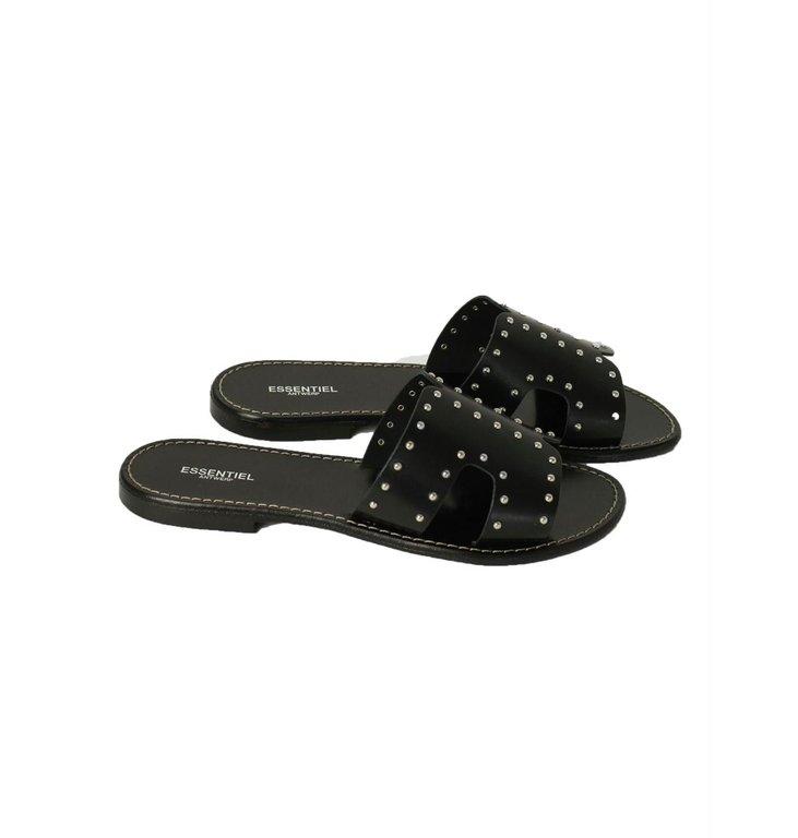 Essentiel Antwerp Essentiel Antwerp Black Slippers Vulysses