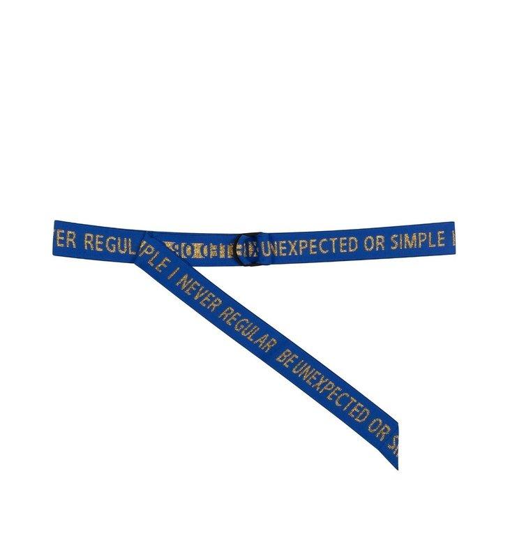10Days 10Days Blue Elastic Belt 20.940.0202