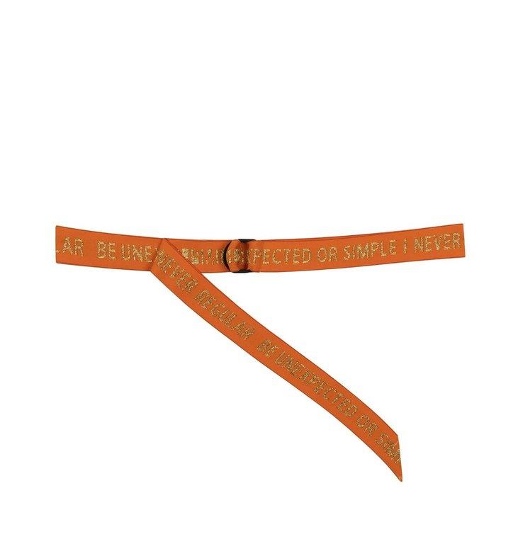 10Days 10Days Orange Elastic Belt 20.940.0202